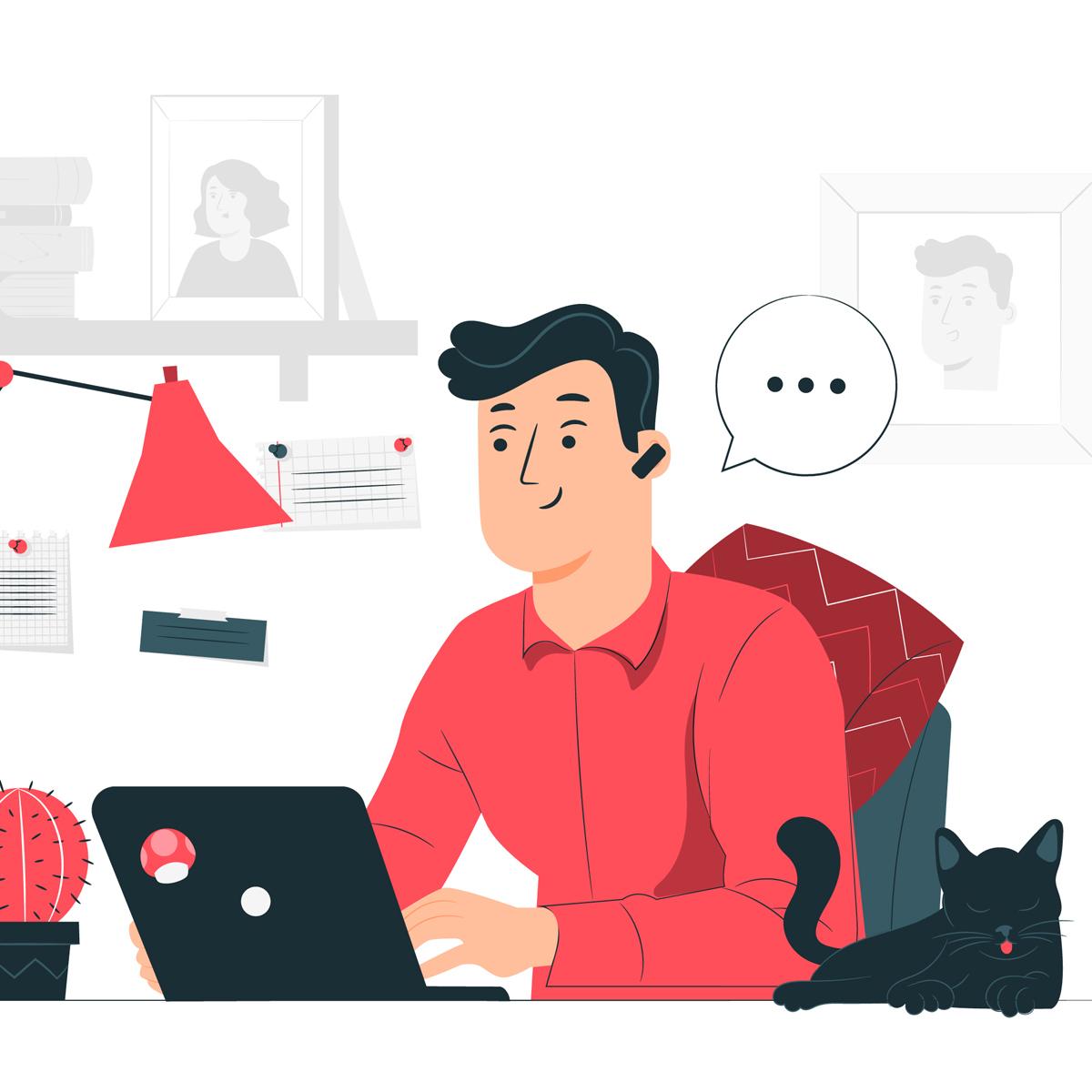 Home Office - o relato de uma agência digital em teletrabalho | Digital Spirit