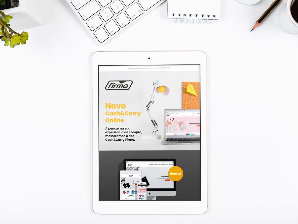 Newsletter tablet